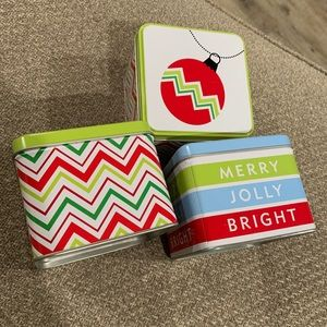 Other - Holiday tin boxes
